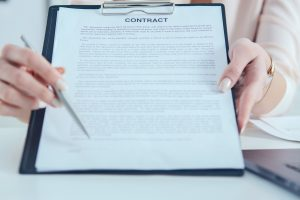 Contract on clipboard