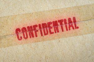 Confidential seal